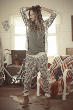 Slouchies - Bam Bam Leopard (more sizes dropping June 1st!) | Spell & the Gypsy Collective