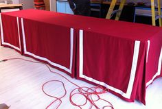 Tutorial for making a skirted table