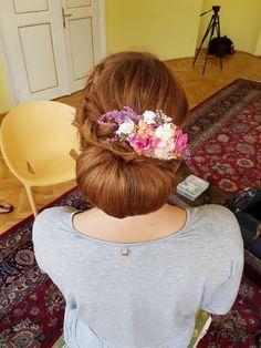 wedding hairstyle by me Wedding Hairstyles, Bride, Makeup, Fashion, Wedding Bride, Make Up, Moda, Bridal, Fashion Styles