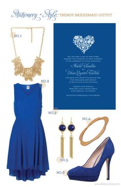 Stationery + Style: Trendy Bridesmaid Outfit