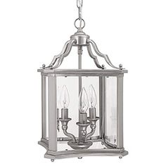Matte Nickel Lantern Pendant Capital Lighting Fixture Company Lantern Pendant Lighting Cei
