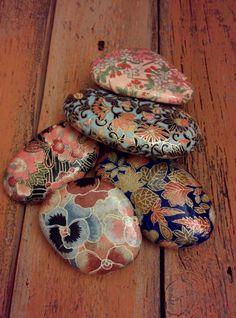 PAPEL y ROCK crear arte con el arte Japon de Kira Ishi (piedra brillante). Su…
