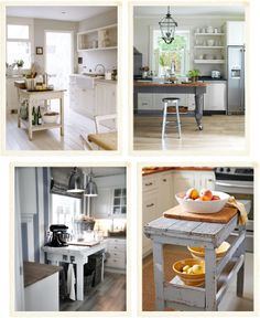Shabby chic interiors bancone fai da te in cucina for Bancone cucina fai da te