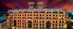 Stay a night or two at The Michaelangelo Hotel in Johannesburg. Hotel Architecture, Hotels And Resorts, Louvre, Lifestyle, Building, Places, Modern, African, Travel