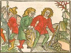 Johannes <de Capua> / Antonius <von Pforr>: Das buoch der weyßheyt der altten weysen Augsburg, 1484 Ink I-378 - GW M13178  Folio 11