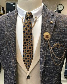 In Fashion Mens Clothes Product Black Suit Vest, Mens Suit Vest, Plaid Suit, Mens Suits, Trendy Suits, Stylish Mens Outfits, Cool Suits, Mens Tailored Suits, Three Piece Suit