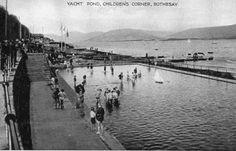 The boating pond is now gone, unfortunately. Isle Of Bute, Scottish Gaelic, Arran, 12th Century, Glasgow, Pond, United Kingdom, Scotland, Castle