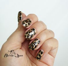 The Sparkle Queen: Video Tutorial: Leopard Nail Art