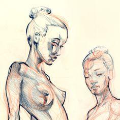Figure Drawing 2 on Behance