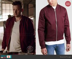 Toby's red bomber jacket on Scorpion.  Outfit Details: http://wornontv.net/44263/ #Scorpion