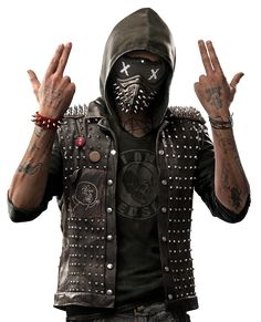 Wrench from Watch Dogs 2