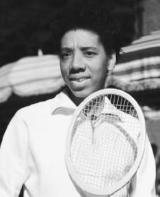 The entrance of Negroes into national tennis is as inevitable as it has proven in baseball, in football, or in boxing; Professional Tennis Players, Professional Women, Althea Gibson, American Tennis Players, Person Of Color, Golf Tour, Color Lines, Southern Belle, Task Cards