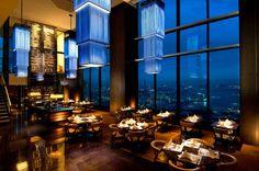 World's Best Restaurants   Maui on Z100 Portland Conrad Hotel, Okinawa, Luxury Living, Where To Go, Best Hotels, Kyoto, Restaurant Bar, Vacation Spots, Hong Kong