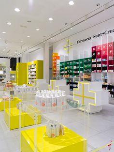 Pharmacy retail-spaces