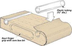 sanding block tip