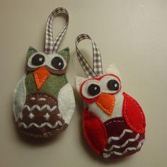 DIY - Owl Ornaments