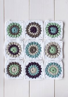 These grayed blues and purples are similar to the circles I'm making now!
