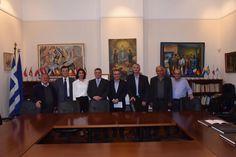 Αντιπροσωπεία του Δήμου Λύσης στον Πρέσβη της Ελλάδας