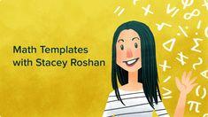 Pear Deck Math Templates with Stacey Roshan Teaching Tools, Teaching Math, Teaching Resources, Junior High Math, Ap Calculus, Algebra, Math Talk, Math Anchor Charts, Framed Words