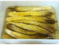 [오이지] 끓이지 않고 만드는 초간단 오이지! Korean Food, Pickles, Cucumber, French Toast, Bread, Cooking, Breakfast, Ethnic Recipes, Cucina