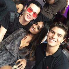 Pin for Later: There Was a Degrassi Reunion and You Need to See All the Pictures  Lyle Lettau, Melinda Shankar, and Luke Bilyk smiled for the camera.