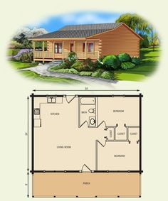 View the log cabin floor plan and request pricing information for theTmaarack Log Cabin Home by Appalachian Log Structures. Small Cabin Plans, Log Cabin Floor Plans, Small House Floor Plans, Cabin House Plans, Tiny House Cabin, Log Cabin Homes, Log Cabins, Mountain Cabins, Rustic Cabins
