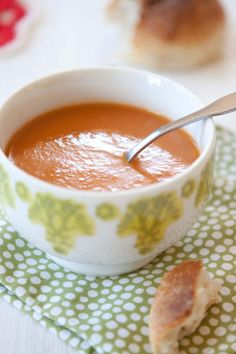 Roasted Bell Pepper Soup!