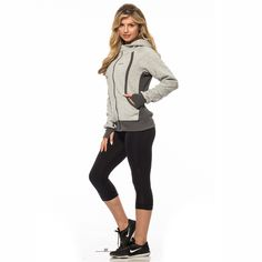 Comfort Gray, Outerwear Women, Jackets Online, Perfect Fit, Sporty, Clothes For Women, Hoodies, Grey, Fitness