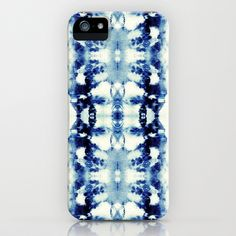 Tie Dye Blues iPhone & iPod Case by Nina May  - $35.00