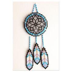 Dreamcatcher hama beads by belleniia