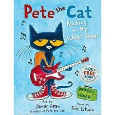 Pete the Cat Series 3 Books Collection Set by Eric Litwin I Love My White Shoes