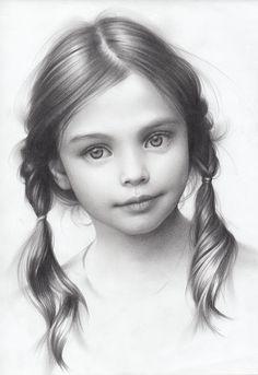 Portrait of a Girl, Andrey Belichenko on ArtStation