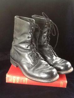 Vintage Combat Boots / Builtrite Combat Boots / by thesoupison, $45.00