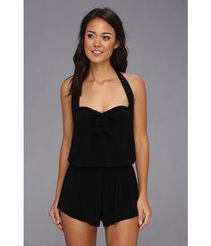 Magicsuit Solid Romy Romper Swimsuit Black 2 - 6pm.com