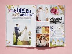 Cosmo Bride Managing Editor Alexis Teasdale shares her wedding photos Cosmopolitan Bride, issue 38 www.cosmopolitanbride.com.au