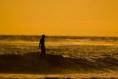 Chris Del Moro walking on water