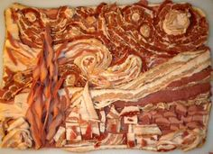 Starry Night....with Bacon. Thanks @Megan Hawkins