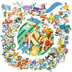 Misty & Her Water Pokemon