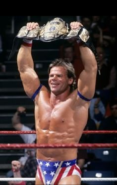 What coulda been .... Lex Luger ~ WWF World Champion