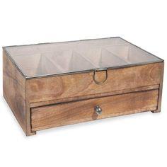 Boîte à bijoux en bois SLOBIKKY