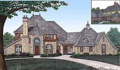 Graceful Lines - 48320FM | 1st Floor Master Suite, Butler Walk-in Pantry, CAD Available, Corner Lot, Courtyard, Den-Office-Library-Study, European, French Country, Luxury, MBR Sitting Area, Media-Game-Home Theater, PDF | Architectural Designs