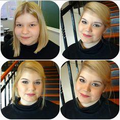Makeup for Céline  Maquillage pour le cours école  #ecole  #esthetique  #maquillage Celine, Taking Pictures, Makeup