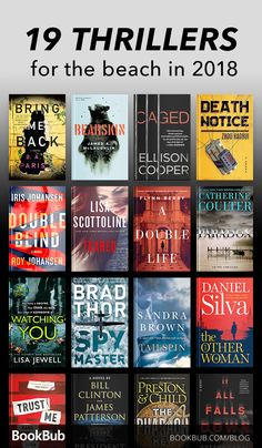 19 of the Biggest Thrillers You Might've Missed This Summer These thrillers are filled with unexpected plot twists and are great for fans of Gone Girl. If you love some suspenseful reading on the beach, this will be your summer reading list. Best Books To Read, I Love Books, Good Books, My Books, Teen Books, Book Club Books, Book Nerd, Book Lists, Book Suggestions