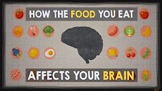 When it comes to what you bite, chew and swallow, your choices have a direct and long-lasting effect on the most powerful organ in your body: your brain. So which foods cause you to feel so tired after lunch? Or so restless at night? Mia Nacamulli takes y Fast Food Nutrition, Vegetable Nutrition, Health And Nutrition, Nutrition Classes, Nutrition Shakes, Nutrition Guide, Sports Nutrition, Mind Diet, Think Food