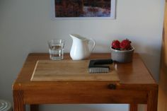 Toddler snack table from Montessori Life As We Know It