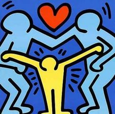 Keith Haring...my all time favorite artist!!!!!