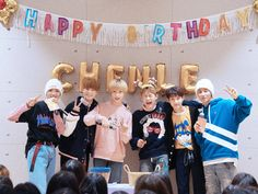 Look at Chenles expression!!  he's a cutie pie