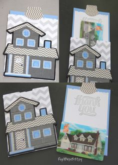 Home Greeting Card Gift Card Pocket