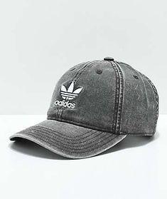 cb1452bba84 adidas Women s Originals Black  amp  White Strapback Hat Strapback Hats