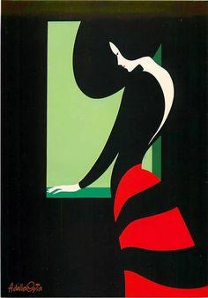 Illustration Teardowns: French Illustrators – Rob Levin – Medium What's Art ? Art And Illustration, Illustrations Posters, Frida Art, Kunst Poster, Poster Design, Inspiration Art, Art Graphique, Grafik Design, Vintage Posters